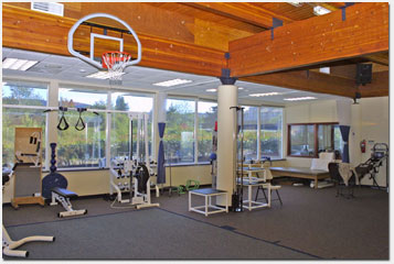 Gym at Anacortes Psysical Therapy